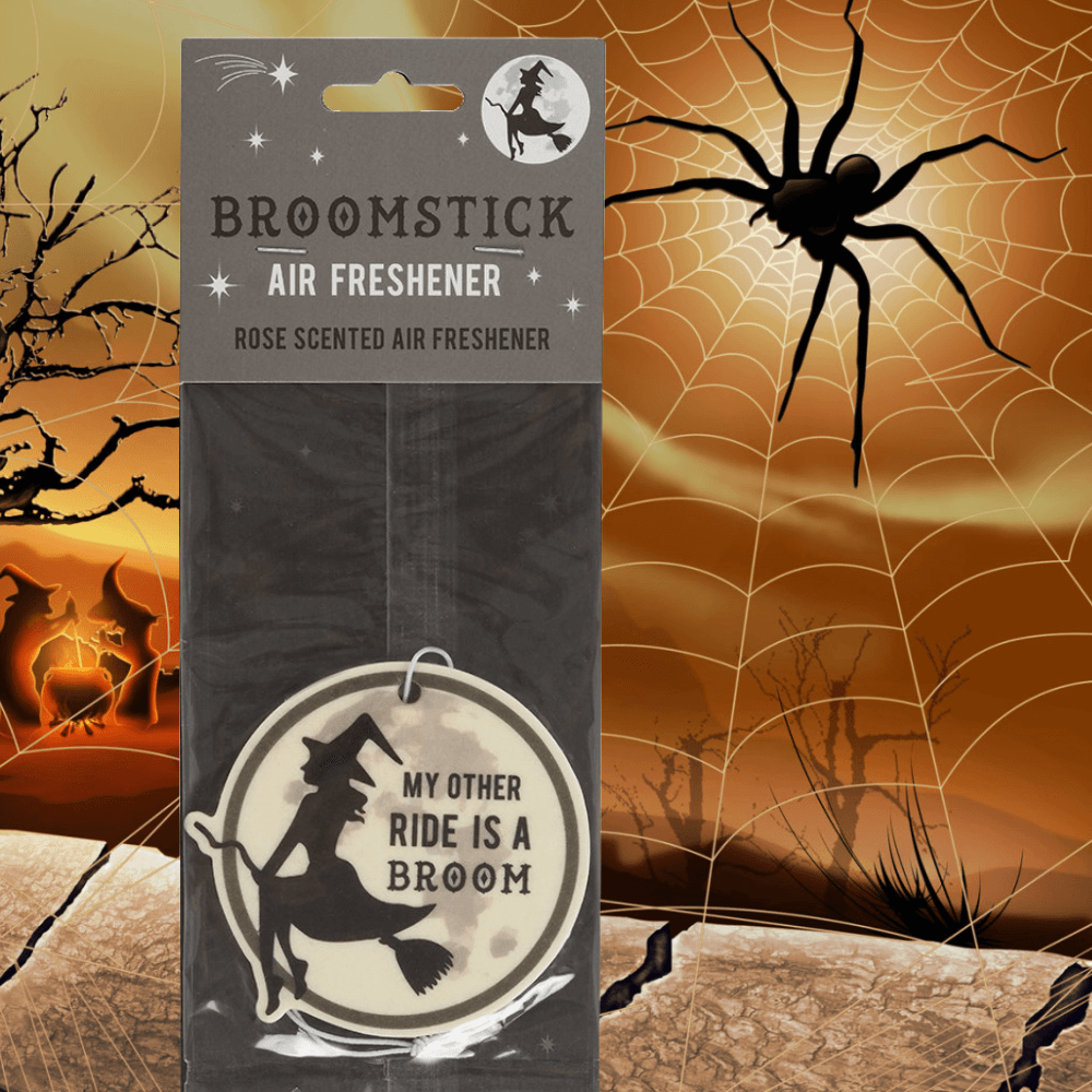 Witches Broom Rose Scented Air Freshener
