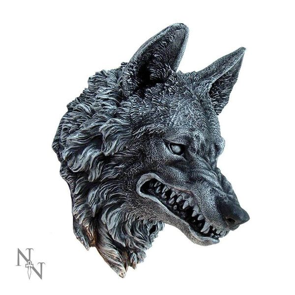 NEMESIS NOW - Wolf Wall Plaque (4590413512782)
