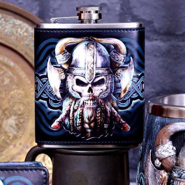 NEMESIS NOW - Danegeld Hip Flask - The Alternative Shark (4531600818254)