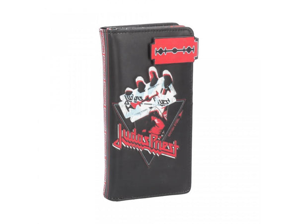 Judas Priest - British Steel Embossed Purse - The Alternative Shark