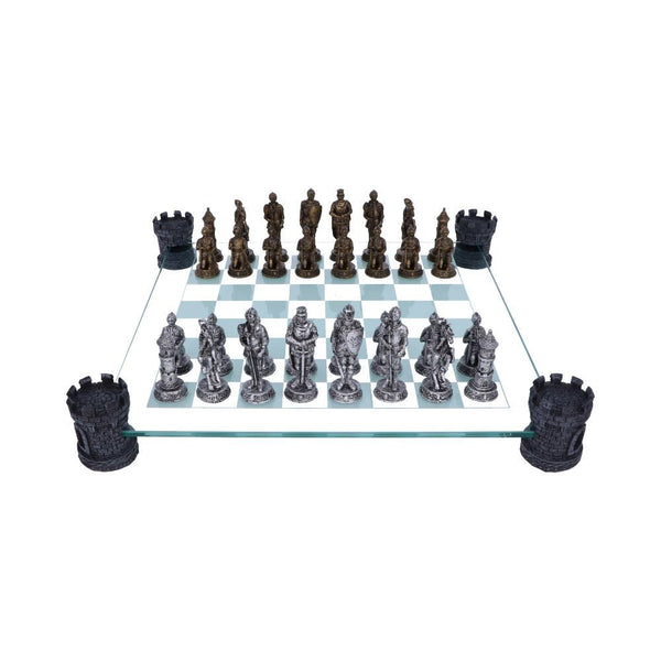 NEMESIS NOW - Medieval Knight Chess Set - The Alternative Shark (4531600982094)