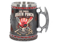 NEMESIS NOW.  Five Finger Death Punch Tankard - The Alternative Shark (4531527090254)