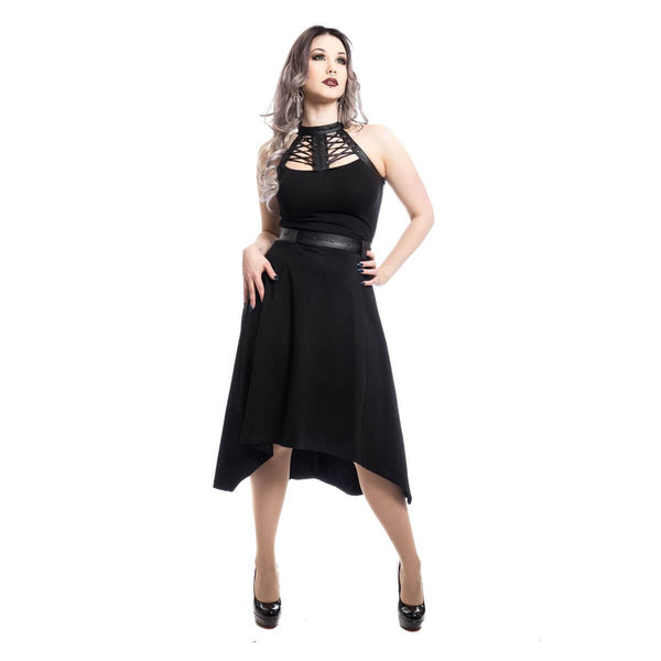 POIZEN INDUSTRIES - Ravette Dress - The Alternative Shark (4531567558734)