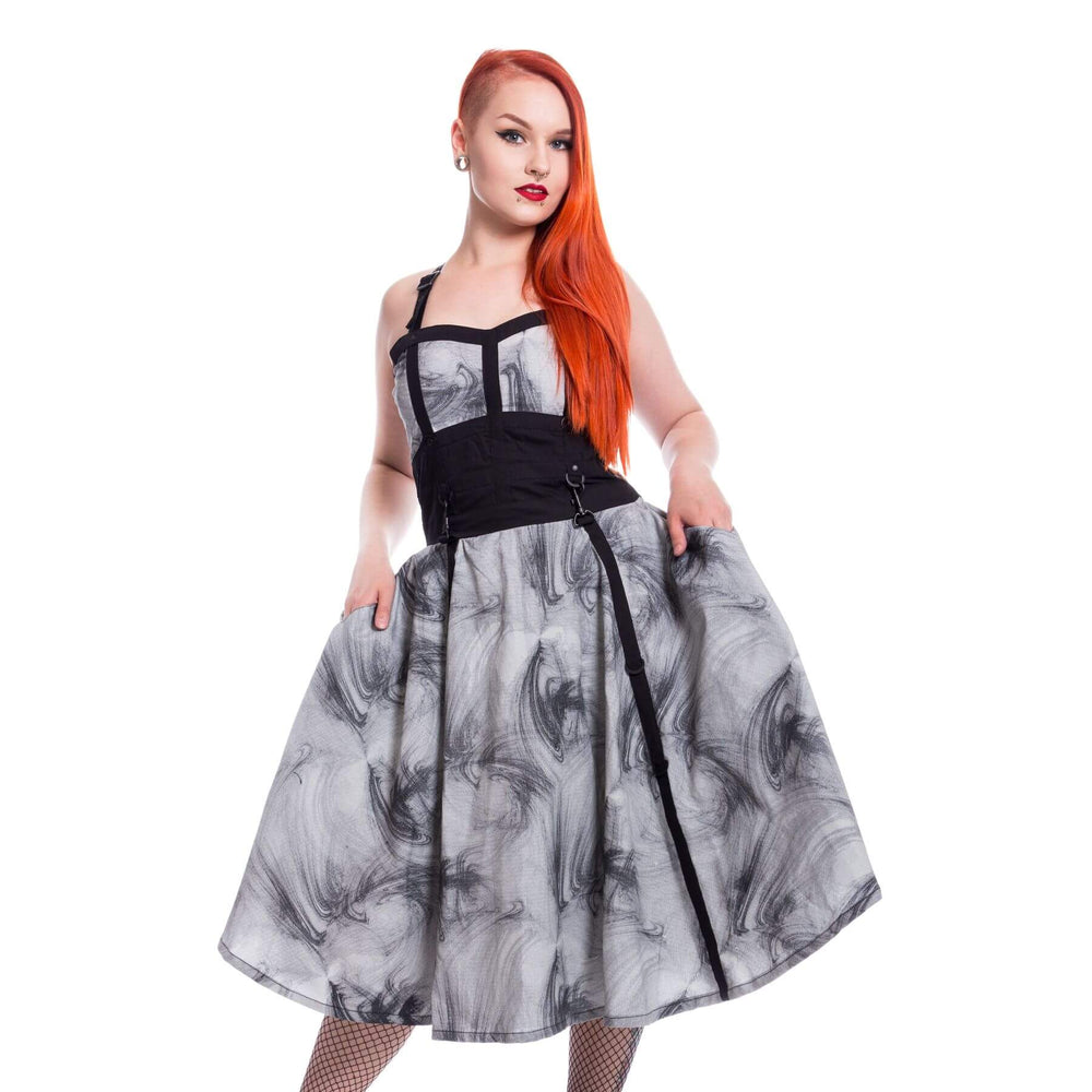 VIXXSIN - Dark Smoke Dress - The Alternative Shark (4531567198286)