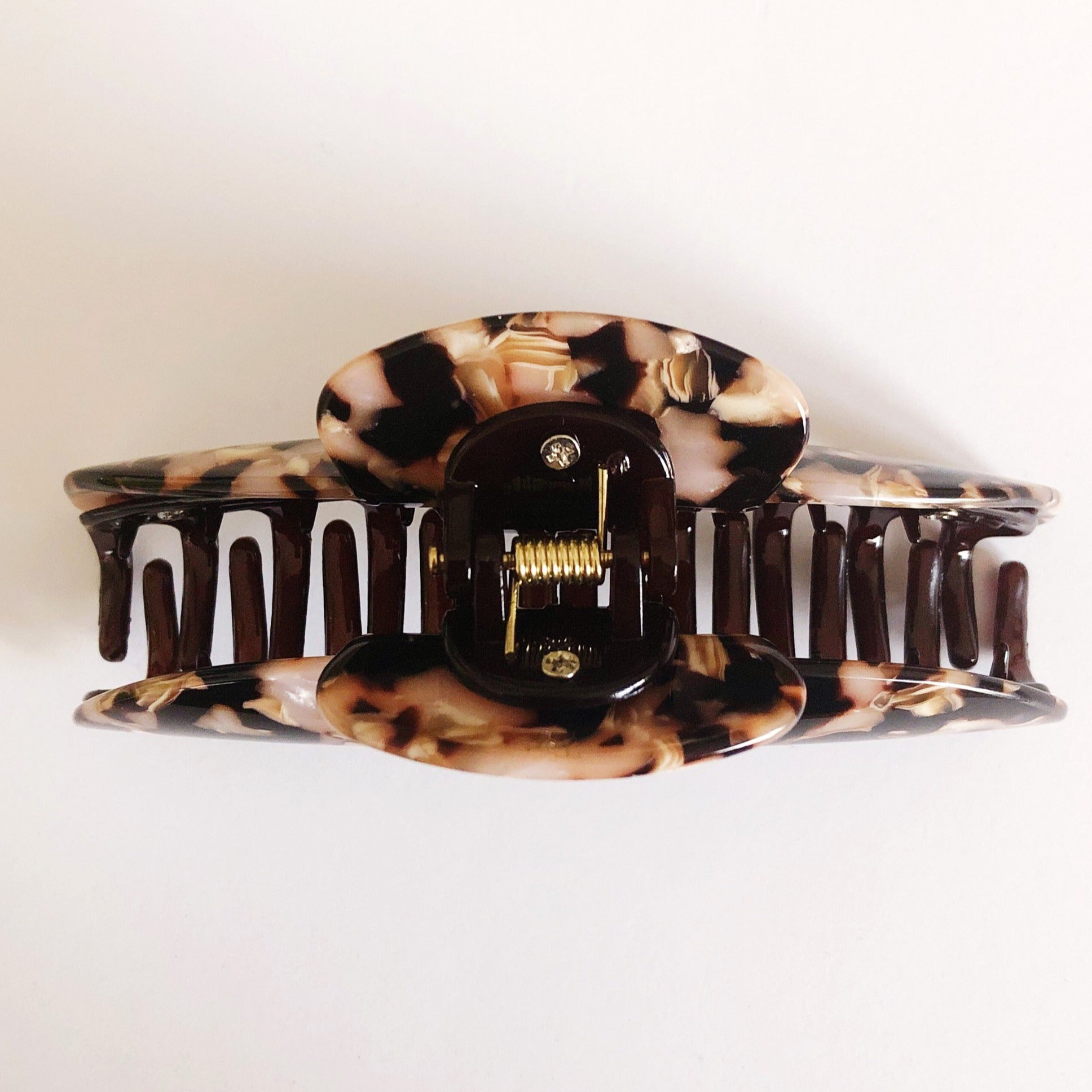 ANNA clip in Espresso Cream (LIMITED EDITION)