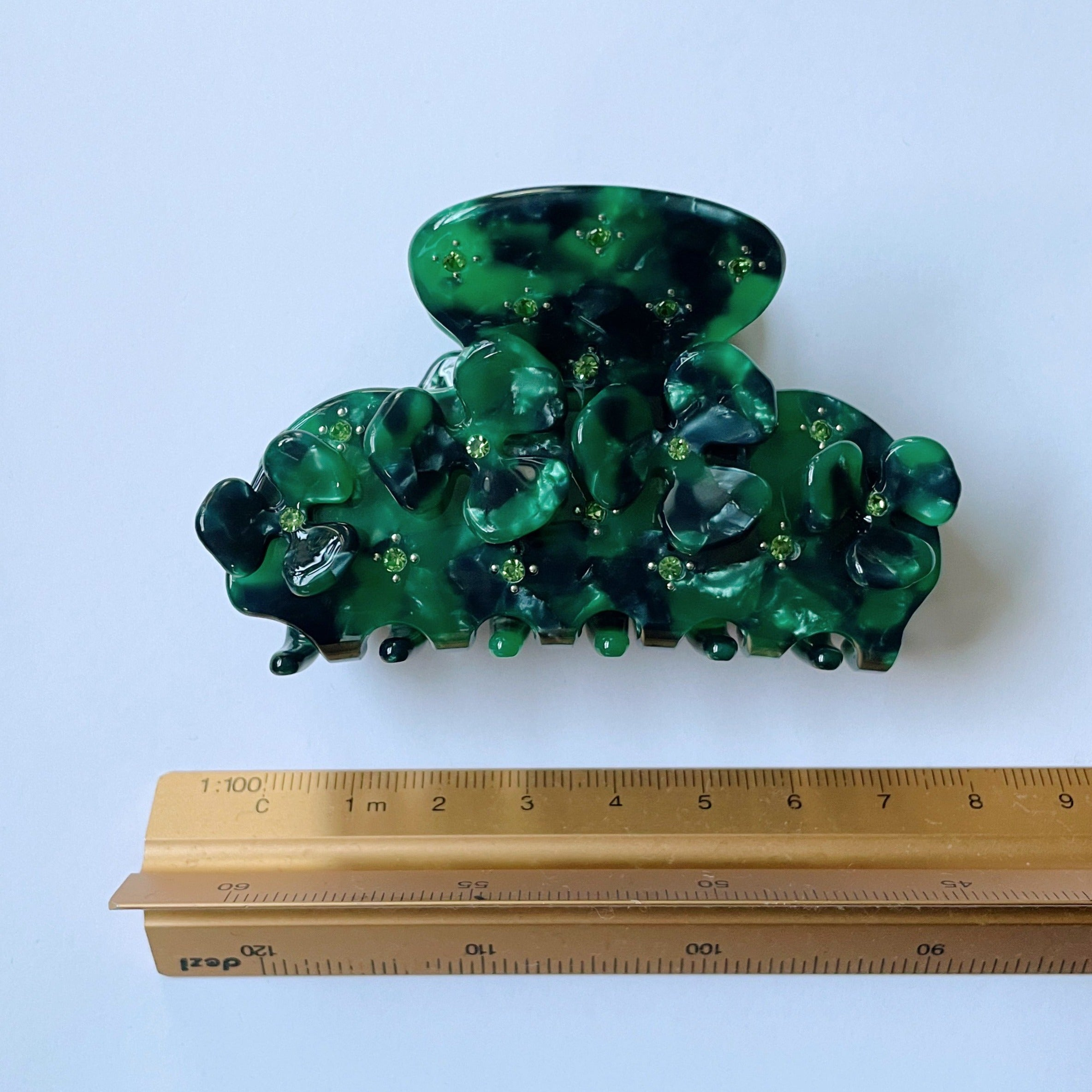 JOAN clip in Emerald Ivy