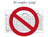 Cubital Tunnel Splint Brace Sizing Chart