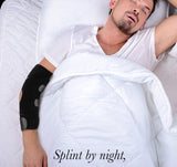 Cubital Tunnel Syndrome Brace Night Sleep Straight Support 01