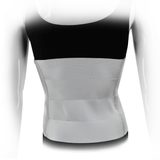 Four Panel Plush Abdominal Binder - 12 inch - Back