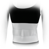 Three Panel Plush Abdominal Binder - 9 inch - Back