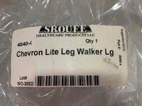Sroufe Chevron Lite Leg Walker Boot for Ankle & Foot