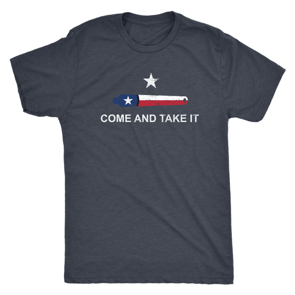 Come And Take It Men's Tri-blend Tee