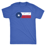 TX Flag Men's Tri-blend Tee