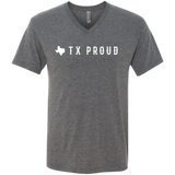 TX Proud Logo Men's Triblend V-Neck