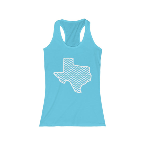 Chevron Outline Women's Racerback Tank