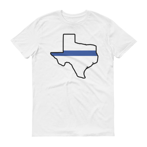 TX Blue Line Men's Lightweight Fashion Tee