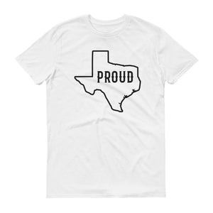 TX Proud Outline Men's Lightweight Fashion Tee