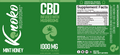 1000MG Full Spectrum CBD Oil - Holistically Balanced - Infused with Mushroom Extract