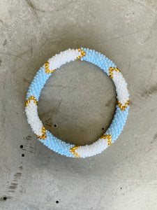 LIGHT BLUE RUNNER BRACELET