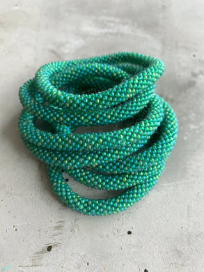 DUSTY GREEN SOLID BRACELET