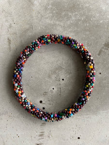 DARK MULTI BEAD BRACELET