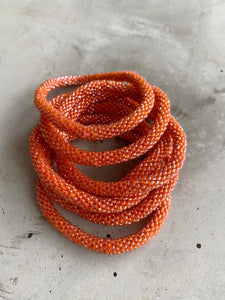 BURNED ORANGE SOLID BRACELET