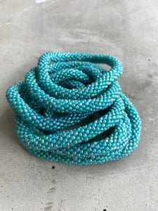 DUSTY TURQUOISE SOLID BRACELET