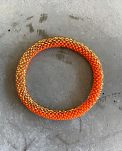 Indlæs billede til gallerivisning ORANGE GOLD RUSH BRACELET