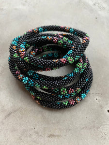 FLOWER SHOP BLUE TONES BRACELET