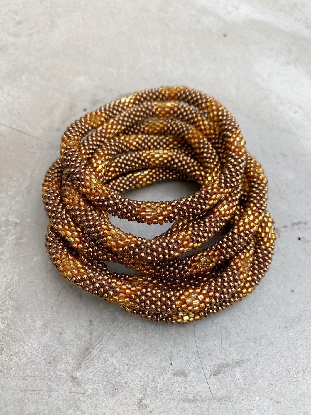 BROWN WINNER BRACELET