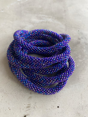 OILE PURPLE SOLID BRACELET