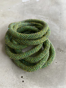 GRASS GREEN SOLID BRACELET
