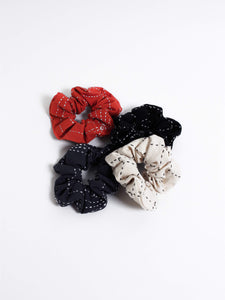 Cross Stitch Scrunchies