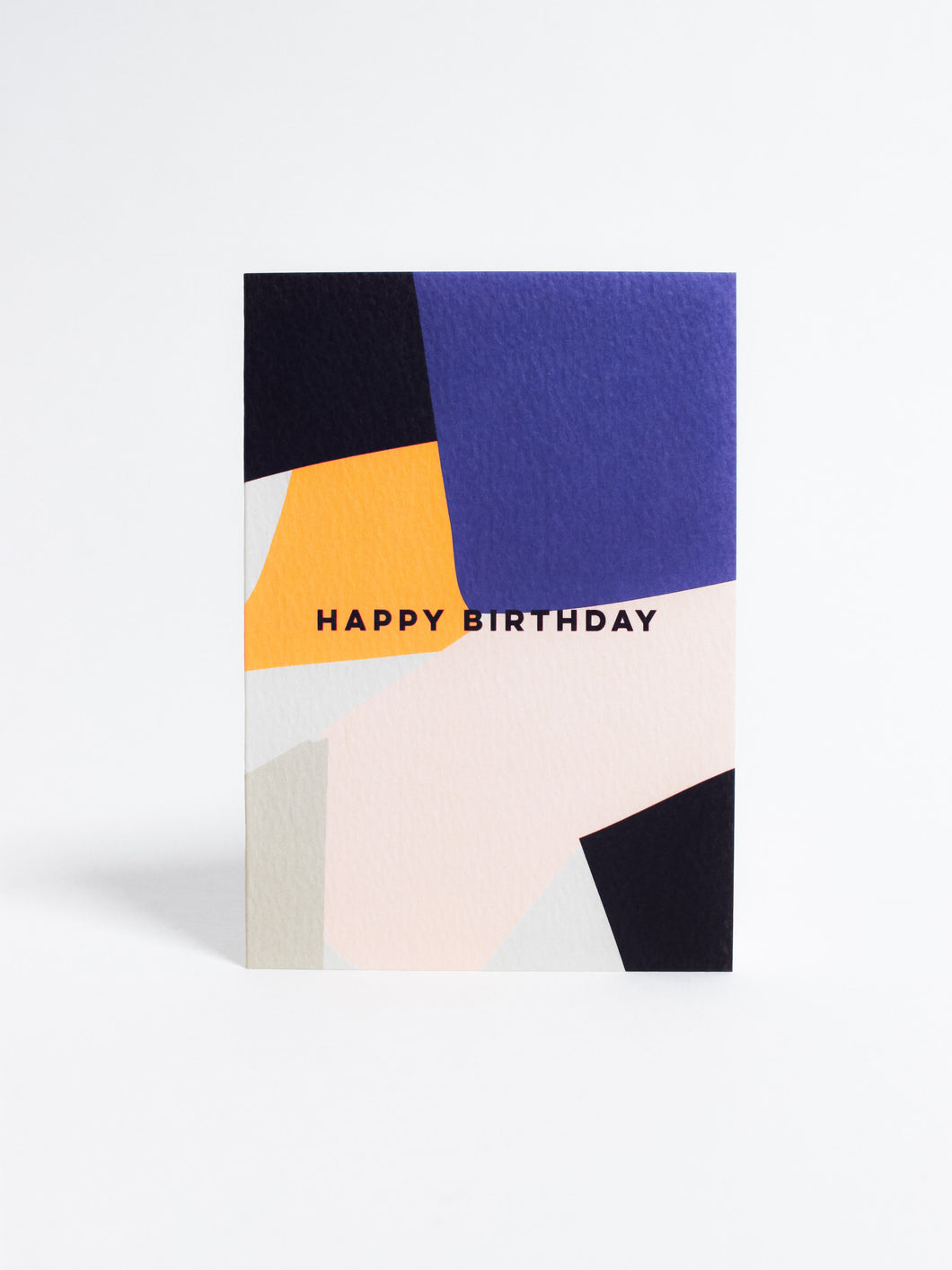 Overlay Shapes Birthday Card