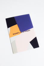 Load image into Gallery viewer, Overlay Shapes Birthday Card