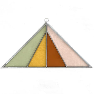 Pink Buckwheat Suncatcher