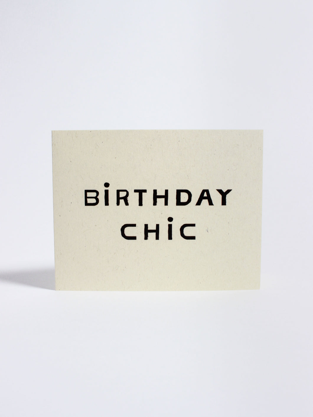 Birthday Chic Card