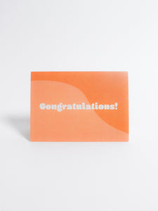 Congratulations Retro Card