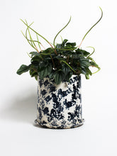 Load image into Gallery viewer, Indigo Splatter Planter