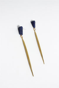 Stone and Brass Quill Drops