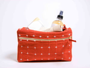 Cross Stitch Toiletry Bag