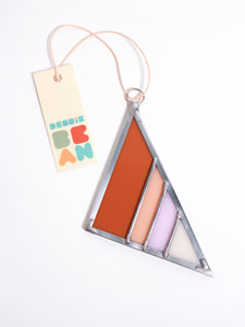 Field Opaque Stained Glass Triangle