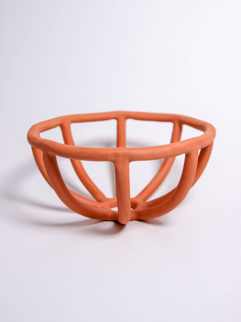 Terracotta Prong Fruit Bowl