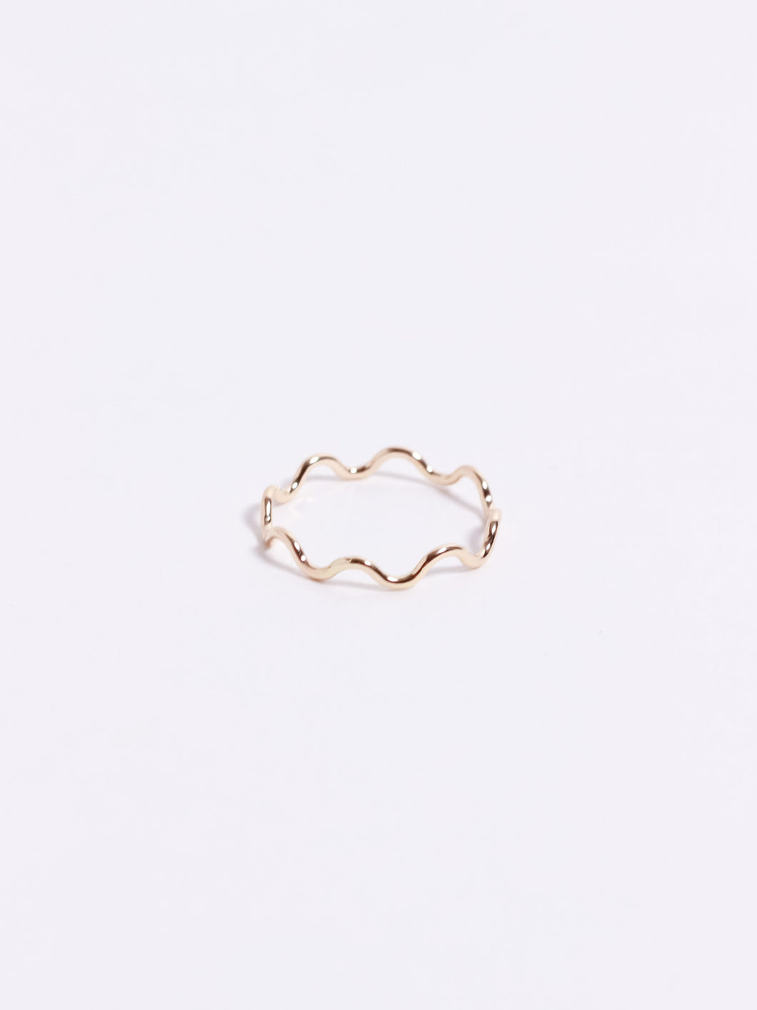 Ripple Stacking Ring