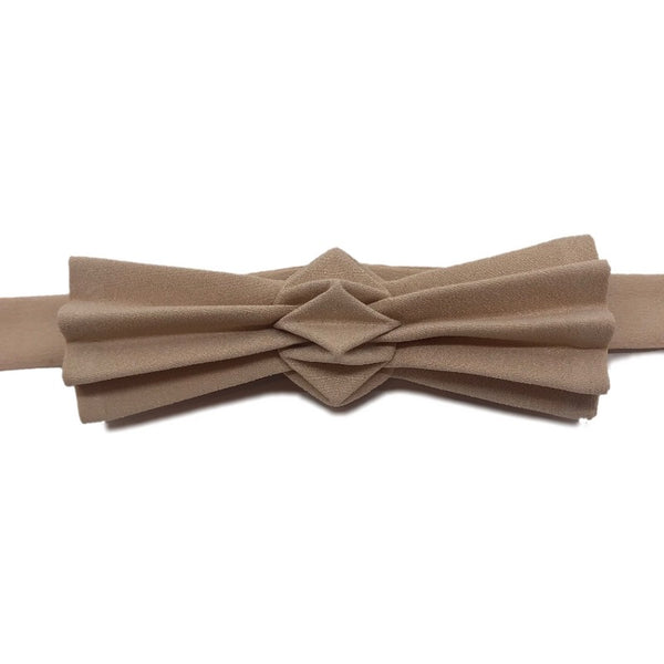 Noeud papillon origami sable