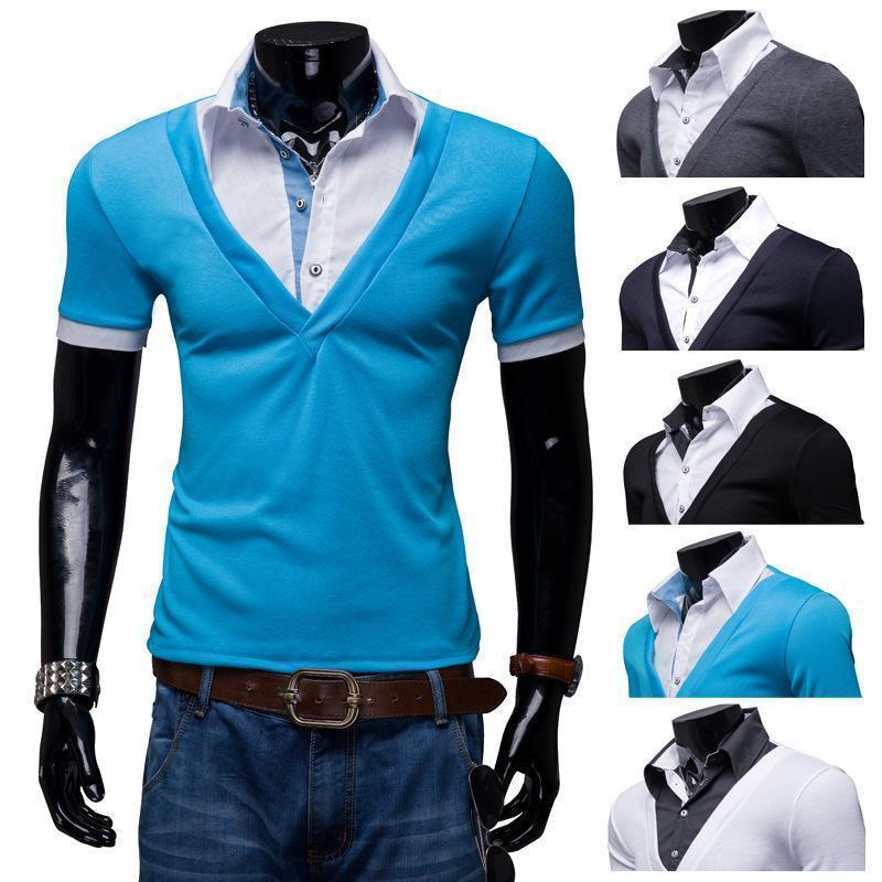 Slim Fit Mens Casual Tshirt