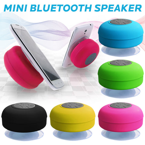 Suction cup bathroom Bluetooth speaker BT-06 waterproof portable small stereo