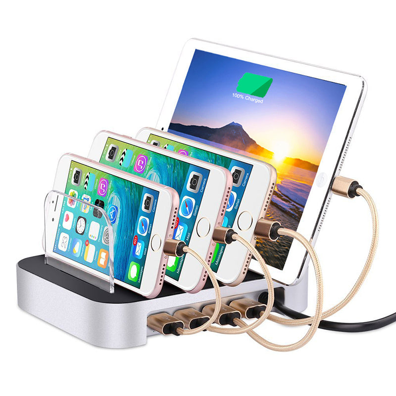 Multi-Function Charging Stand USB Multi-Port Charger Base