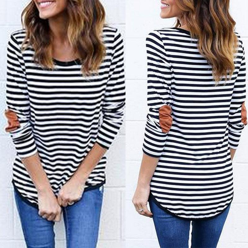 Striped Long Sleeve T-Shirts