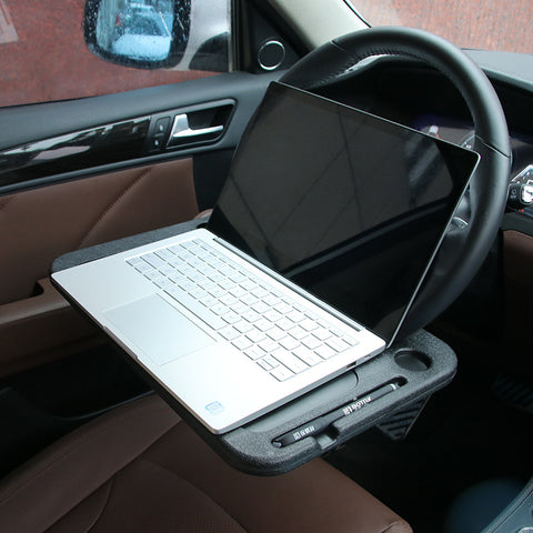 Portable Car Laptop Stand Desk Table Food Tray